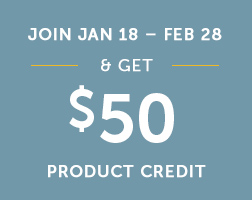 Get product credit!