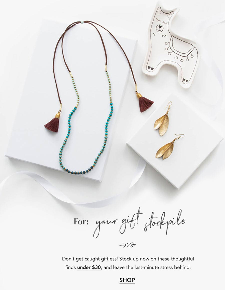 Christmas Presents Fair Trade Gift Guide