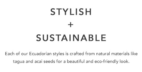 Stylish and Sustainable