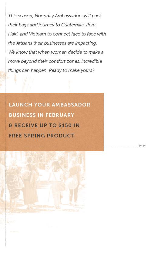 Become an Ambassador